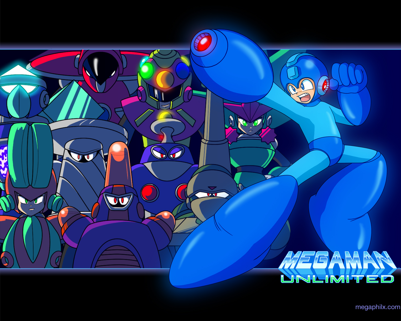 MegamanUnlimitedWallpaper