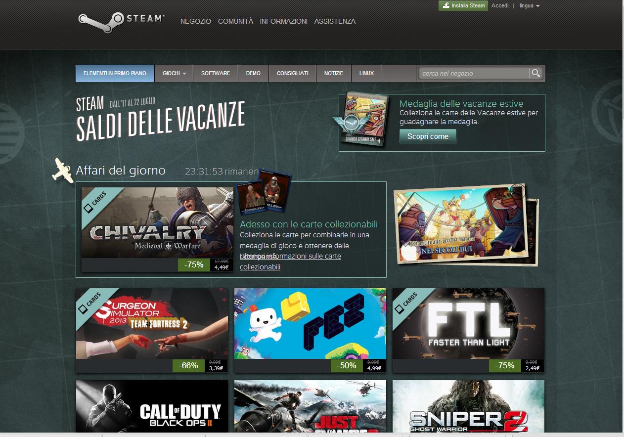 Steam saldi estivi 12072013