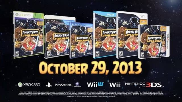 angry birds star wars console trailer