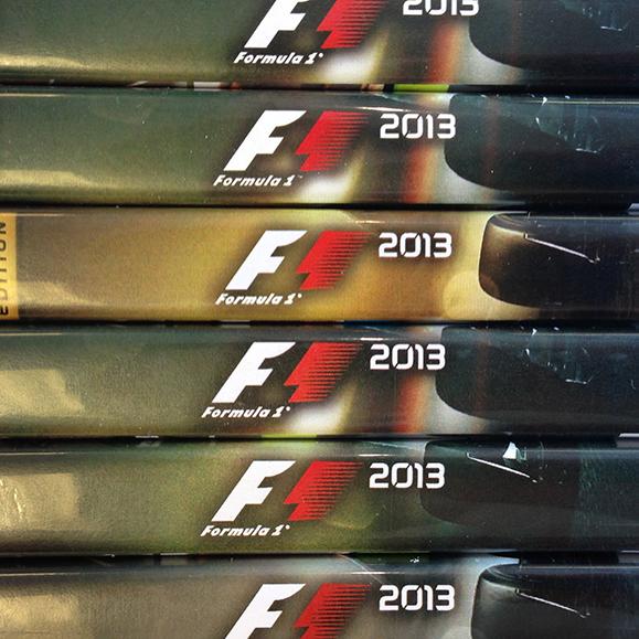 f1 2013reveal