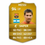 fifa 14 ultimate football team f Messi B