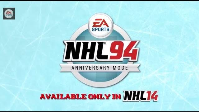 nhl 14 nhl 94 mode trailer