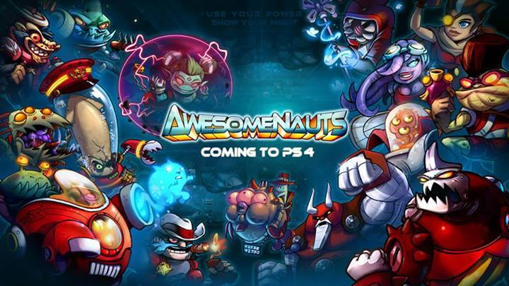 Awesomenauts-PS4-Announce