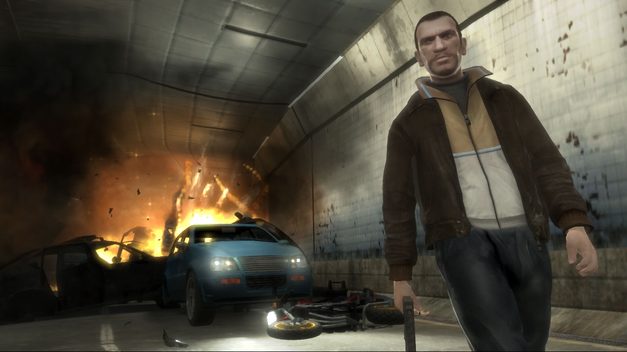GTA IV in game