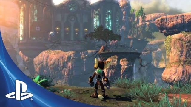 Ratchet and Clank Into the Nexus - GamesCom Trailer