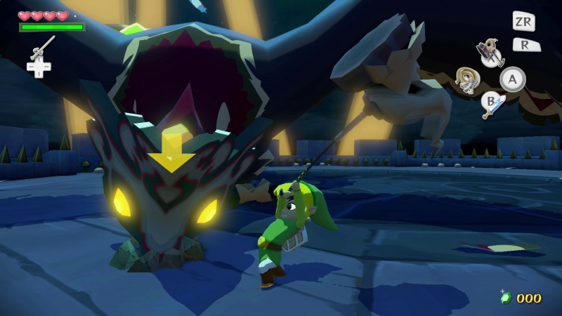 The Legend of Zelda The Wind Waker HD combat