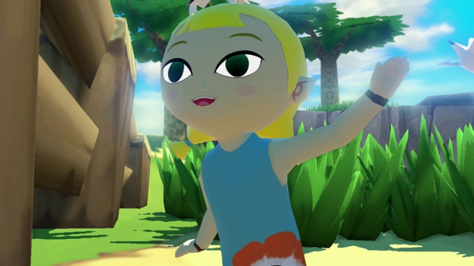 The Legend of Zelda The Wind Waker HD trailer sulla storia