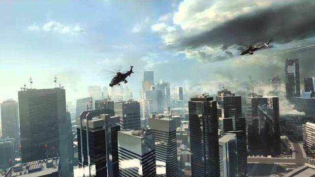 battlefield 4 crash in guns blazing