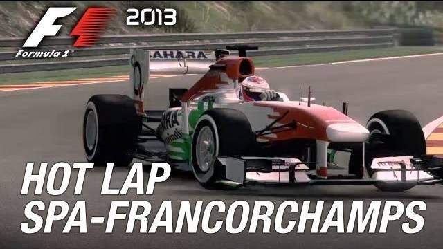 f1 2013 spa giro veloce trailer