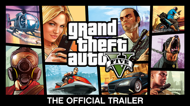 gta v official trailer