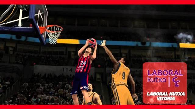 nba 2k14 eurolega trailer italiano
