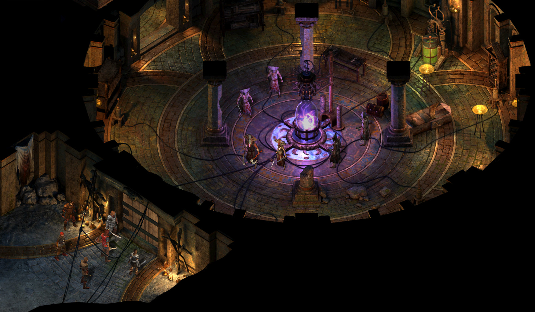 project eternity immagine di gioco comparativa