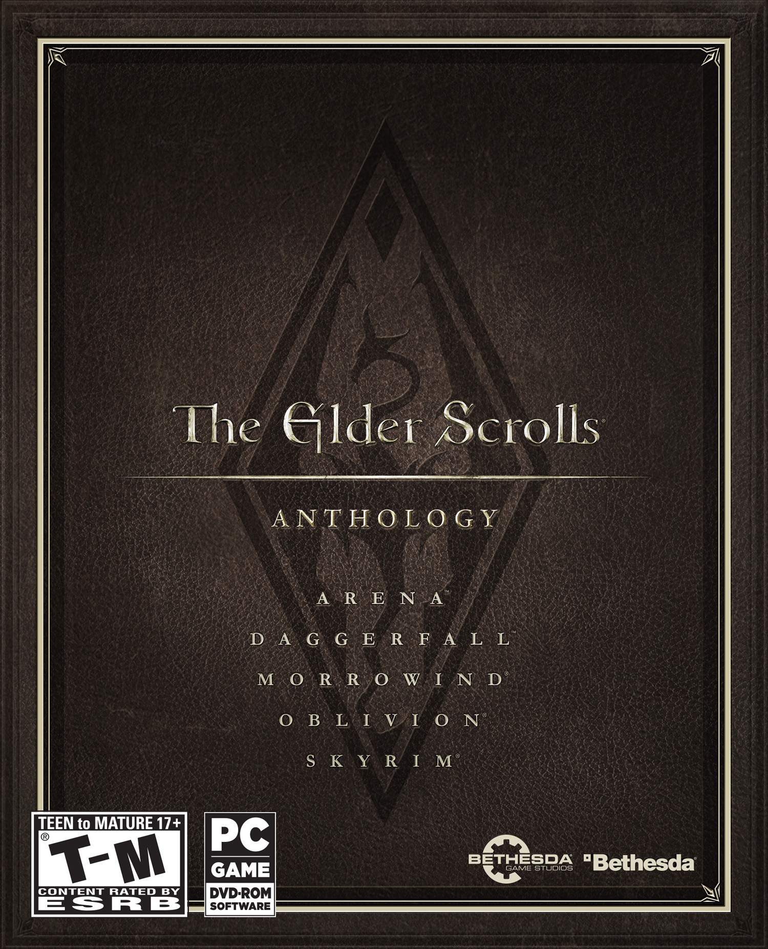 the elder scrolls anthology copertina