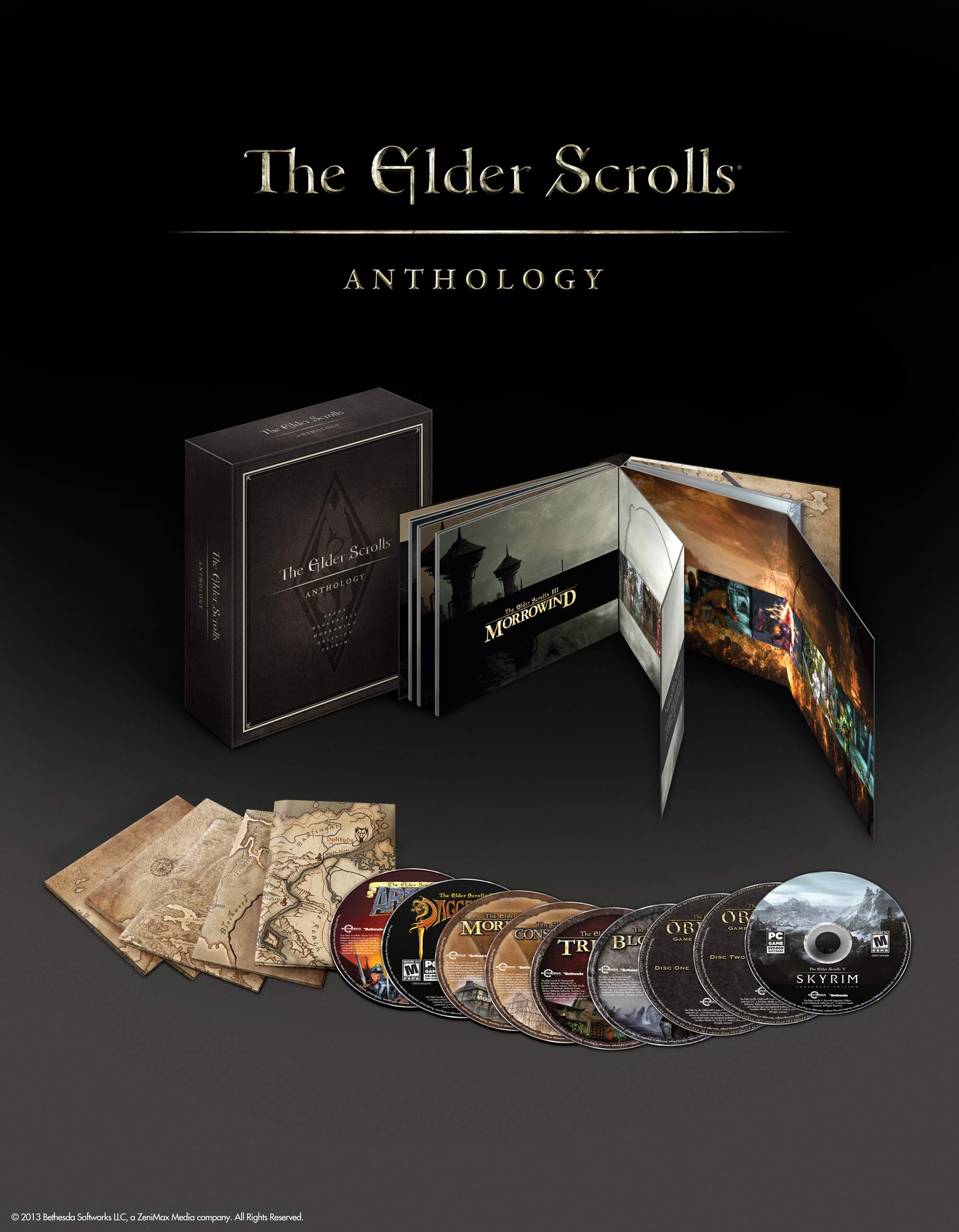the elder scrolls-anthology-group