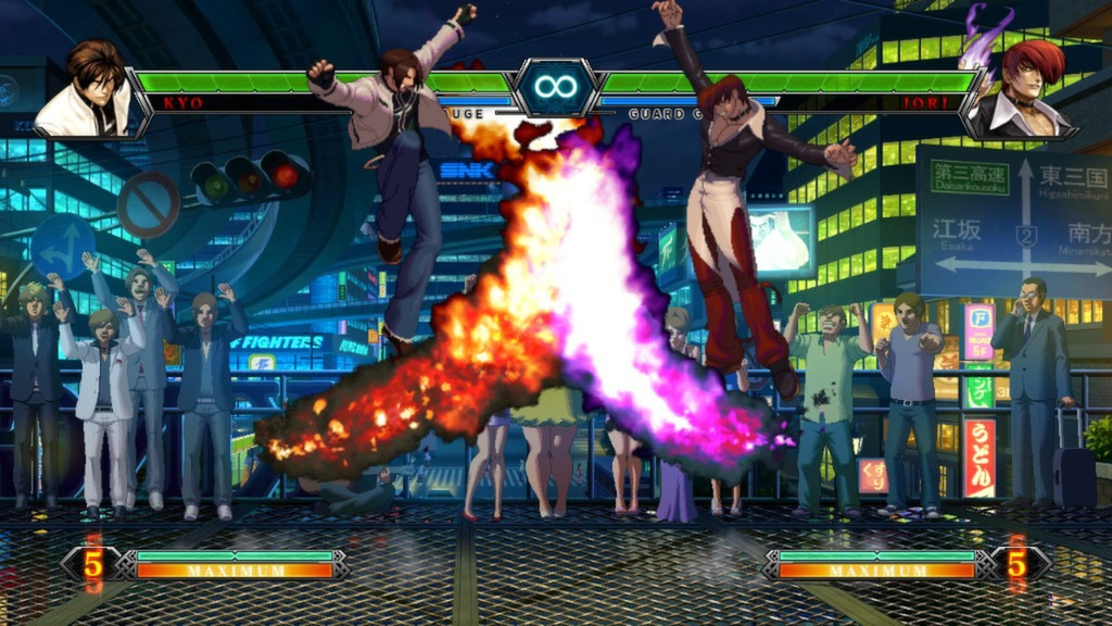 the king of fighters xiii steam edition in game