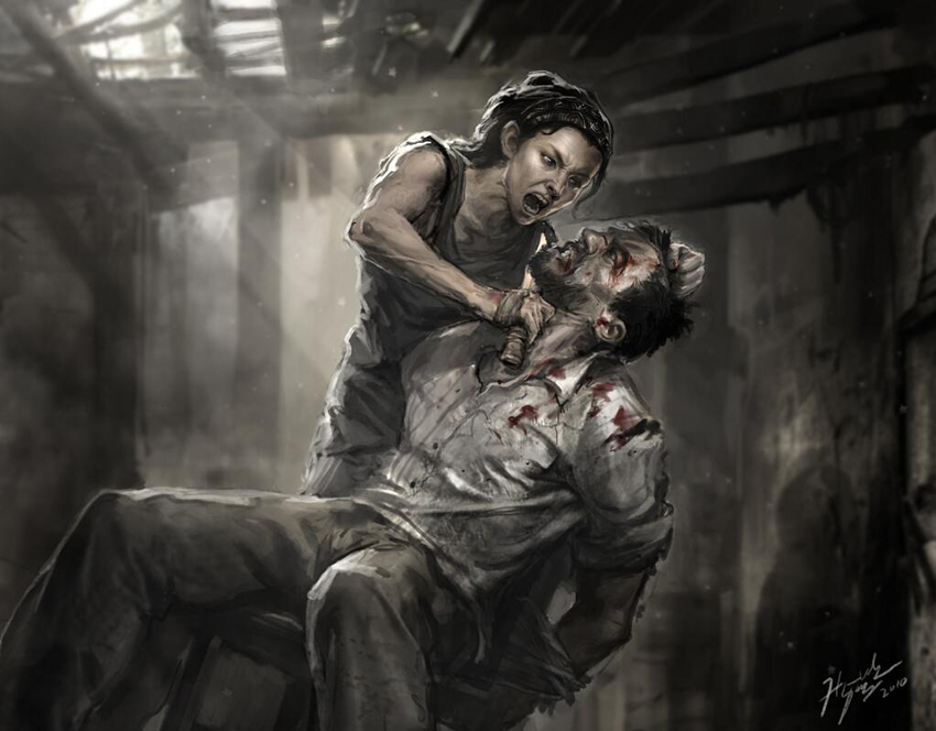 the last of us artwork finale alternativo