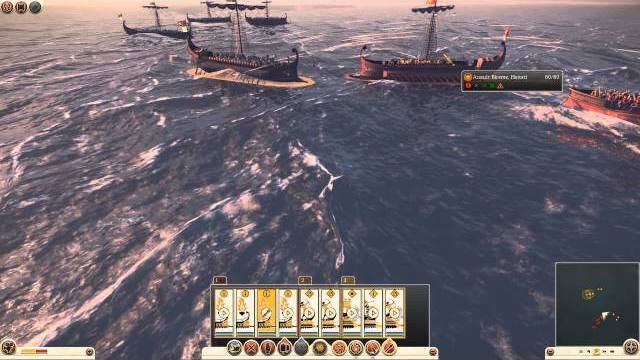 total war rome 2 naval warfare