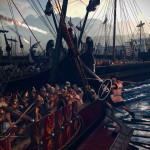 total war rome ii-naval-boarding