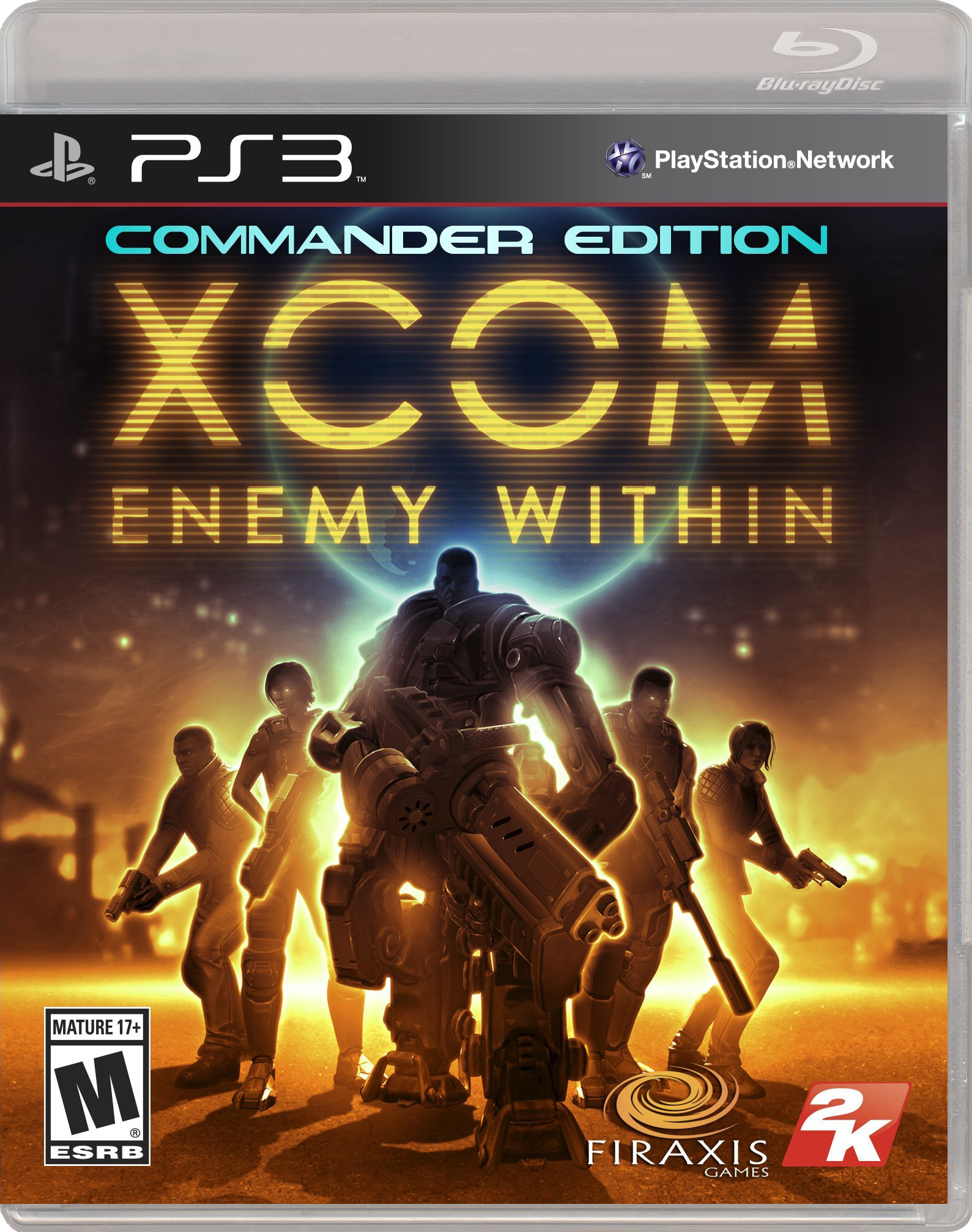 xcom enemy within commander edition copertina PS3