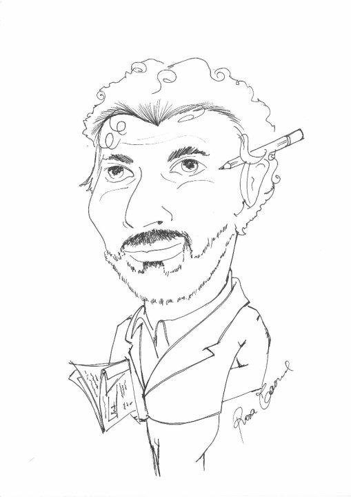 Caricatura by Rosa Taormina