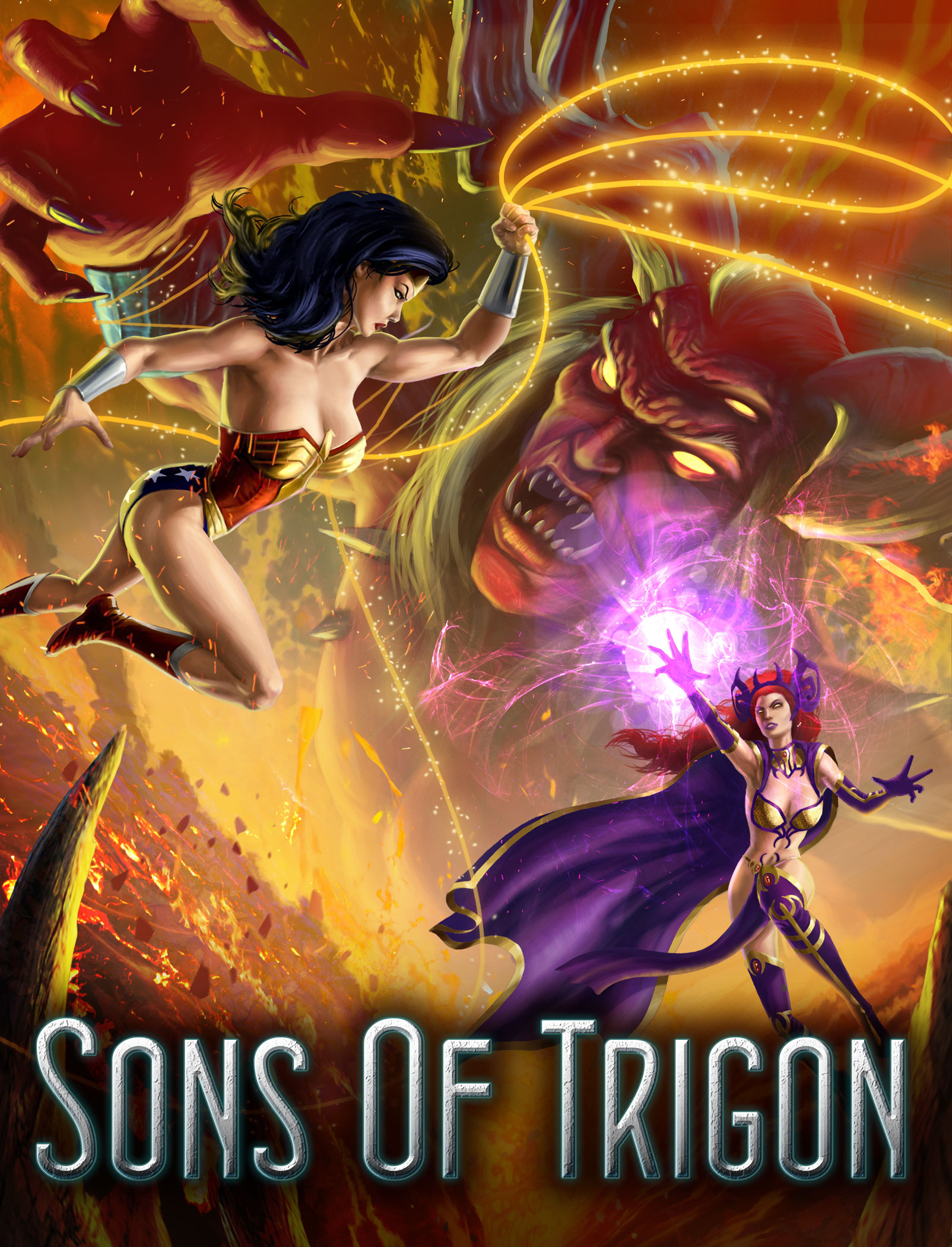 Dc universe online-SonsOfTrigon-art