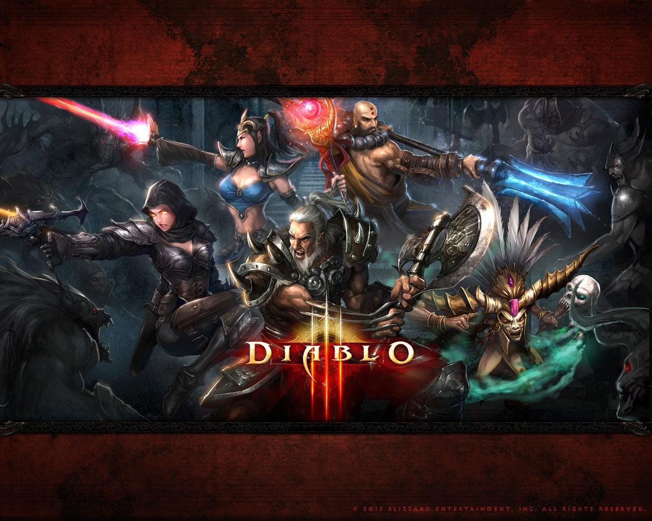Diablo-3 classes