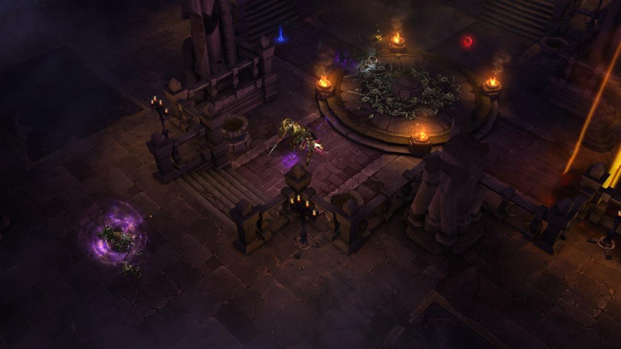 Diablo 3 in game ps3