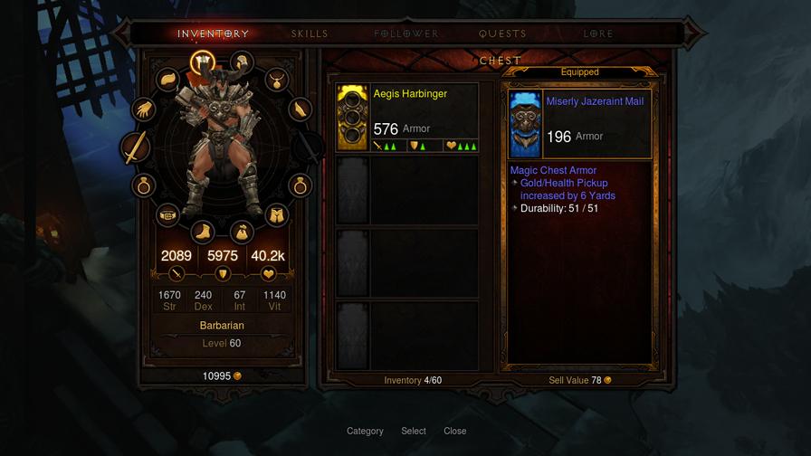 Diablo III playstation 3 inventario