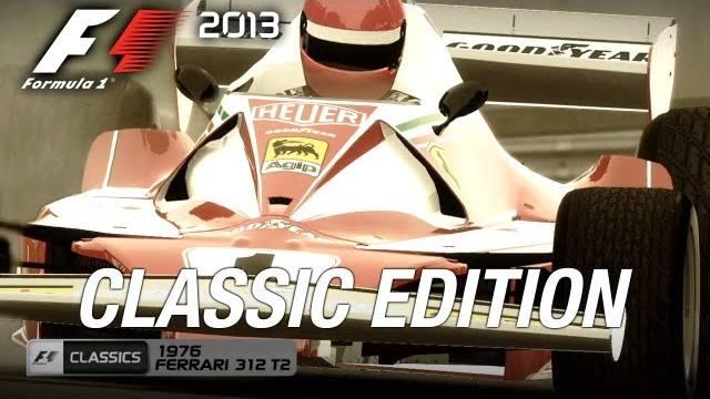 F1 2013 classic mode trailer 13092013