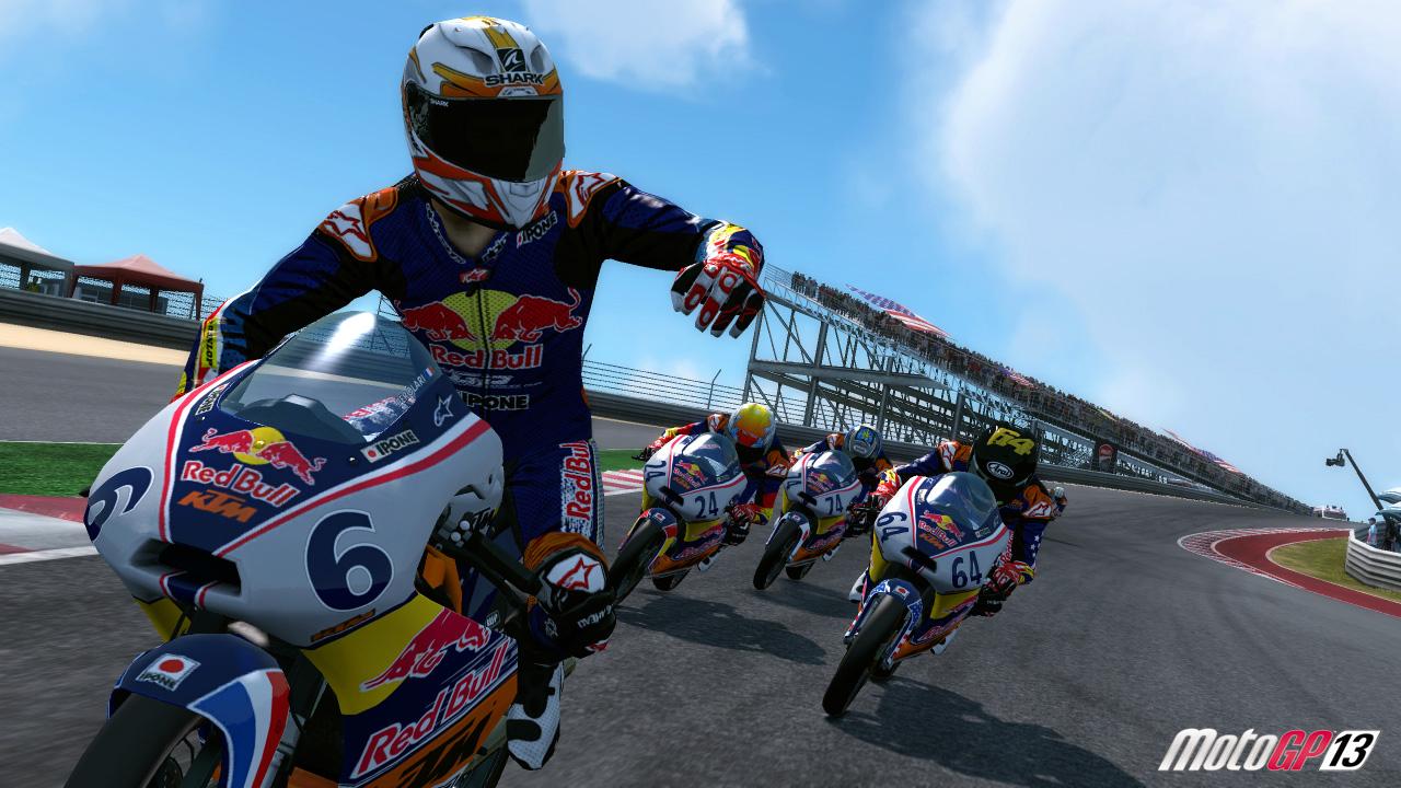 MotoGP13 DLC RedBullRookiesCup