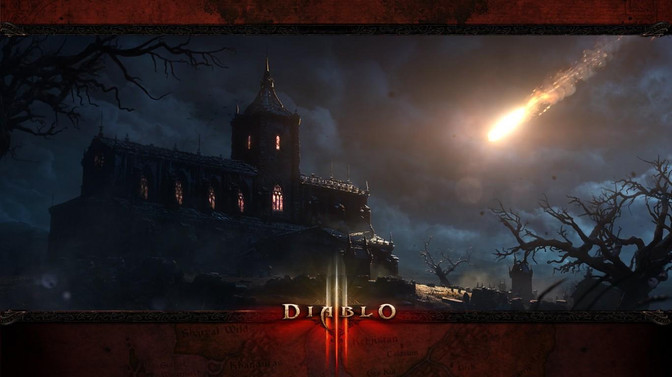 Tristram-Cathedral-Diablo 3