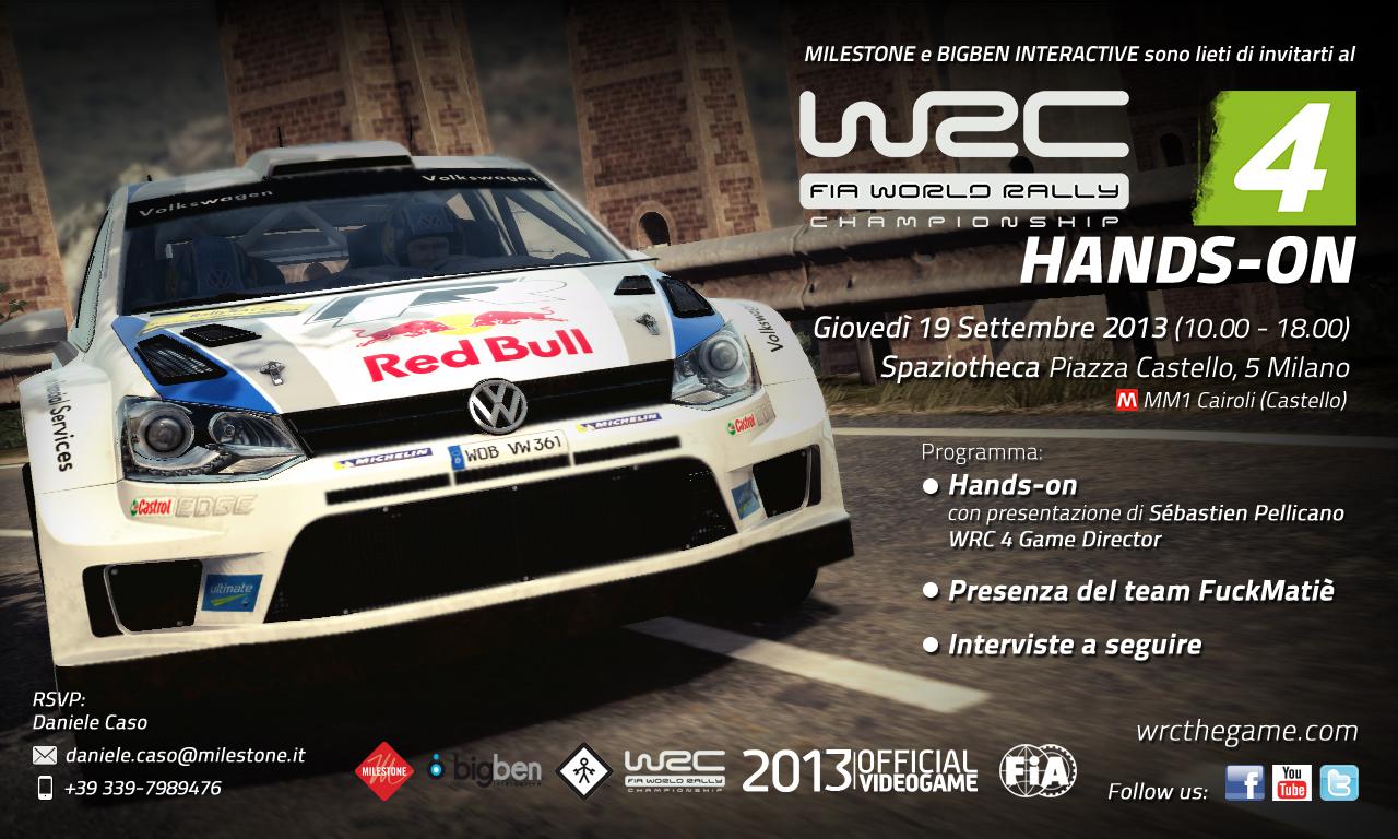WRC 4 - Invito