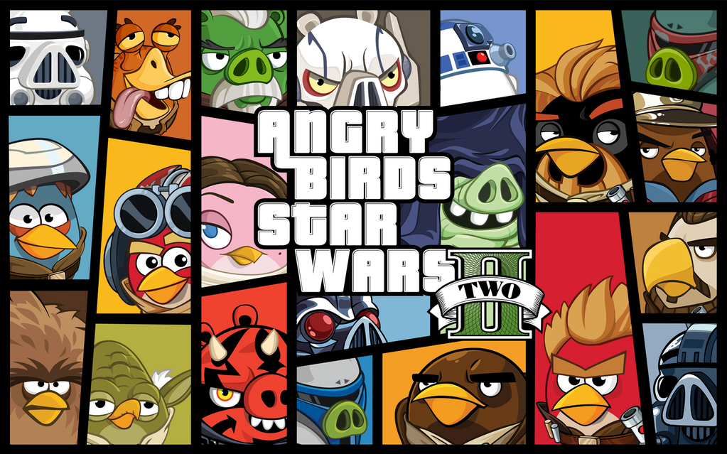 angry birds star wars II stile gta v