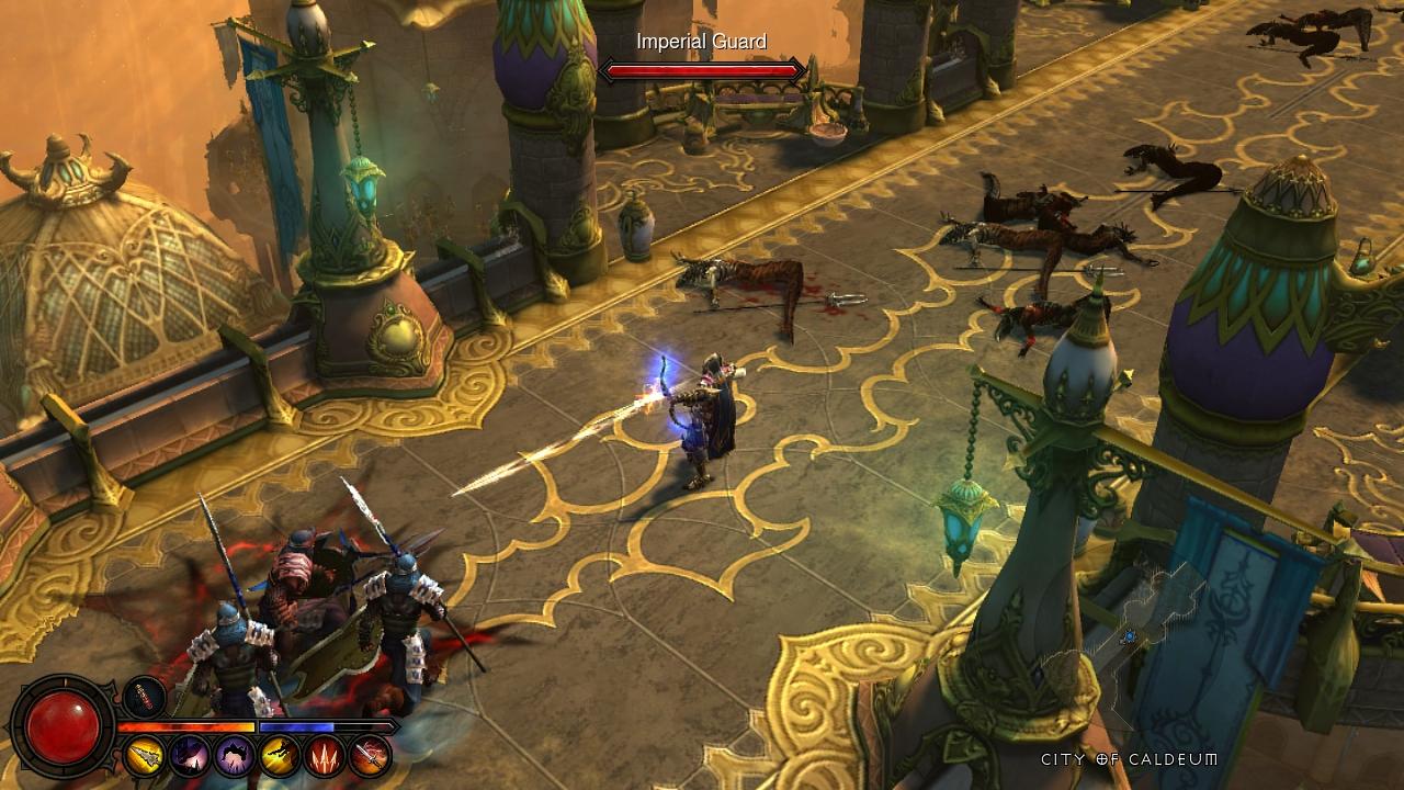 diablo 3 gameplay console