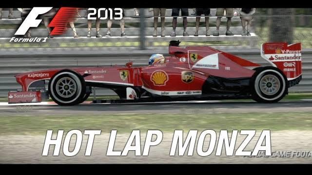f1 2013 hot lap monza
