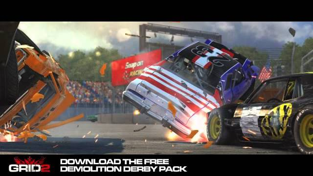 grid 2 demo derby free dlc trailer