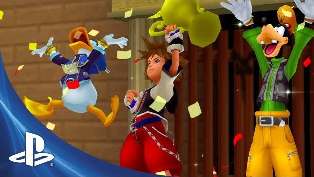 kingdom hearts hd 1.5 remix trailer di lancio
