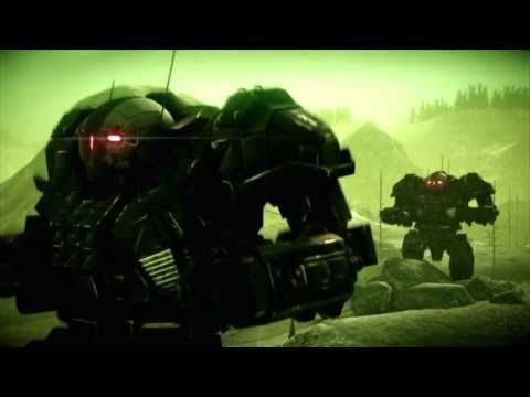 mechwarrior online trailer