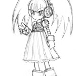 mighty no 9 concept robot 30092013d