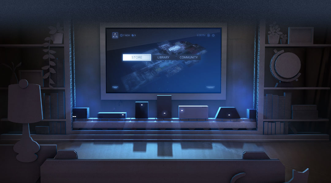 steam machines annuncio