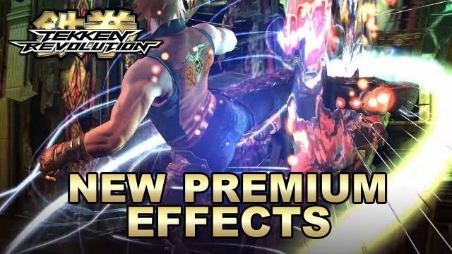 tekken revolution premium effect trailer