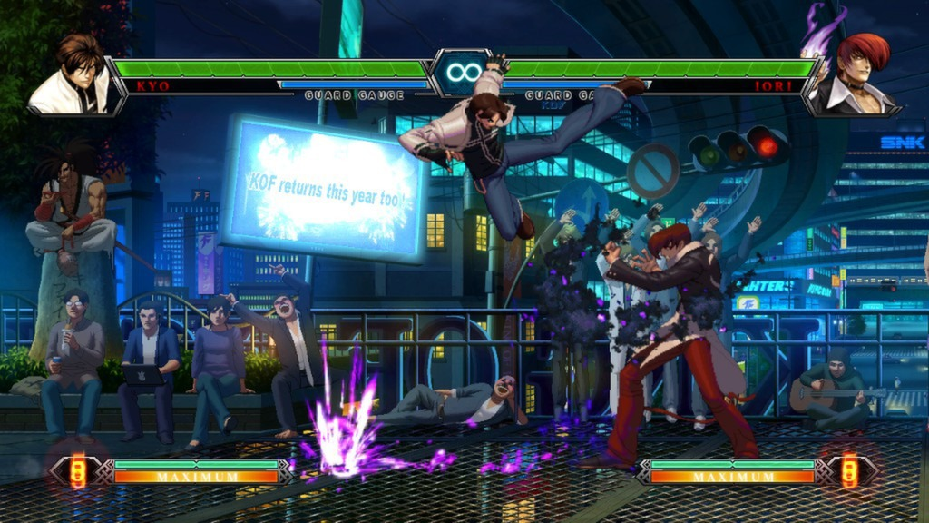 the king of fighters xiii steam edition in game b