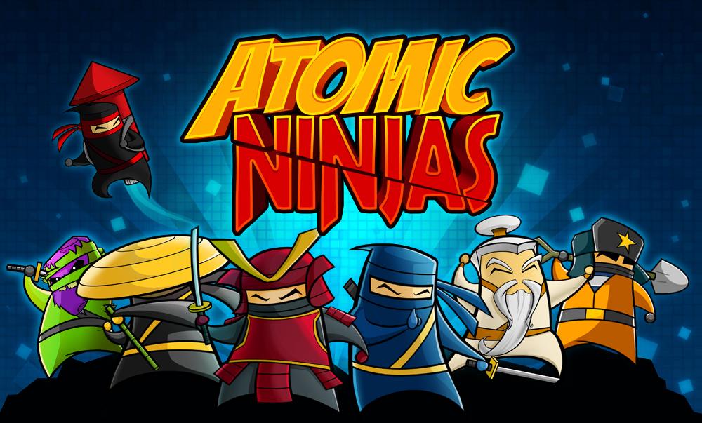 Atomic Ninjas header