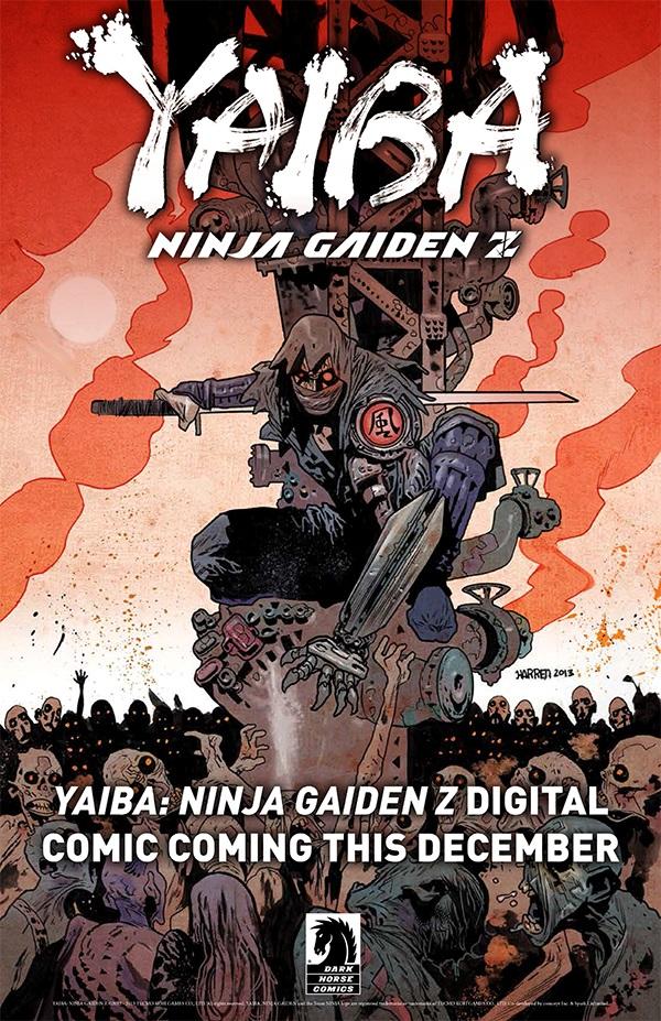 Dark Horse – Yaiba Ninja Gaiden Z Teaser Image