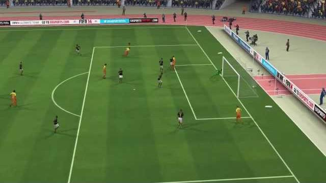 Fifa 14 best goals of the week round 3