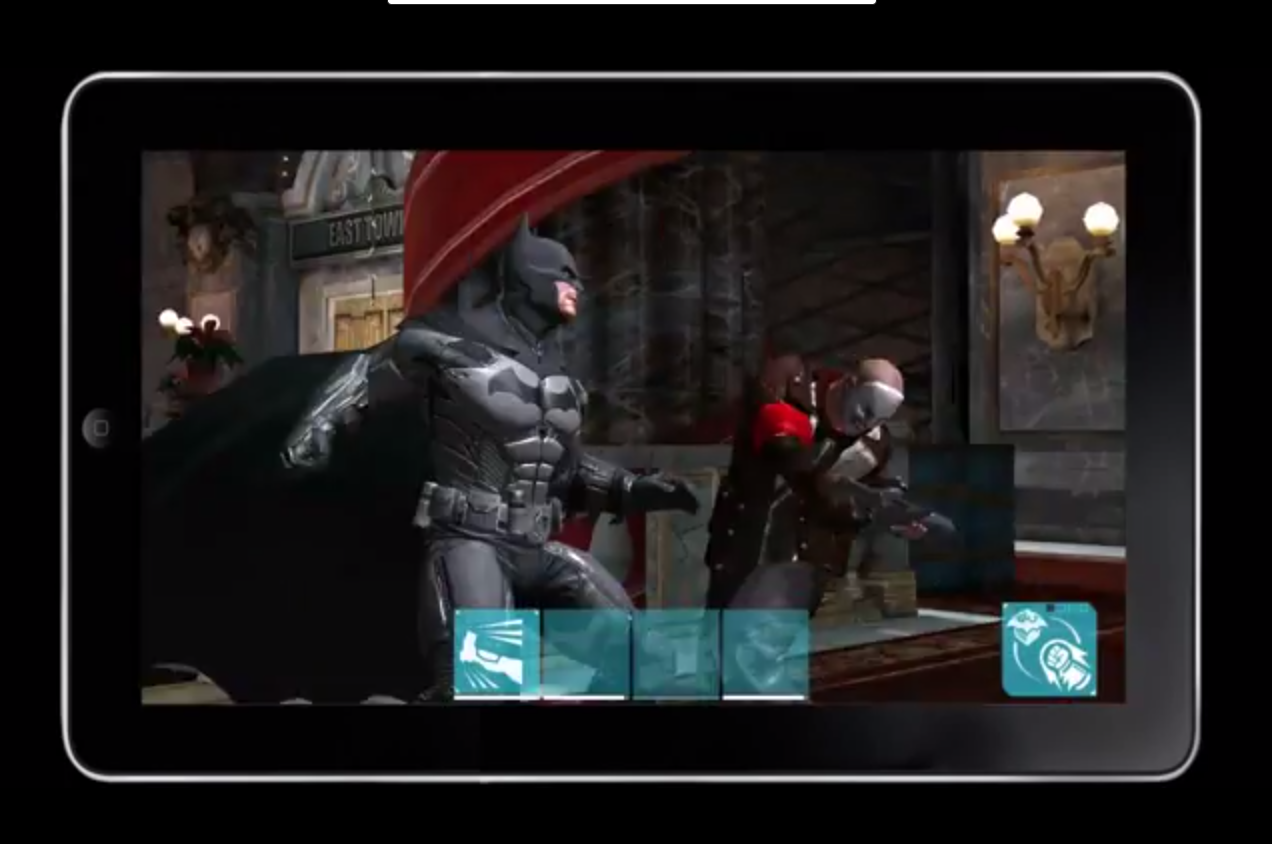 batman arkham city mobile trailer