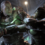 batman arkham origins launch-bane-vs-batman