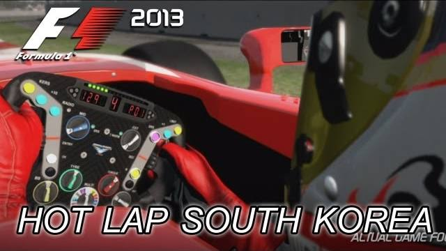 f1 2013 trailer sud korea