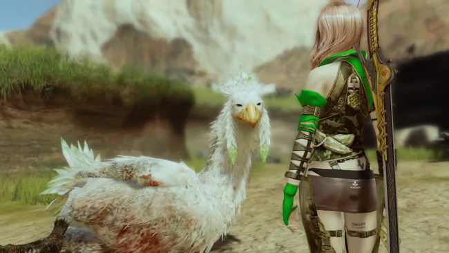 ffxiii wildlands gameplay trailer