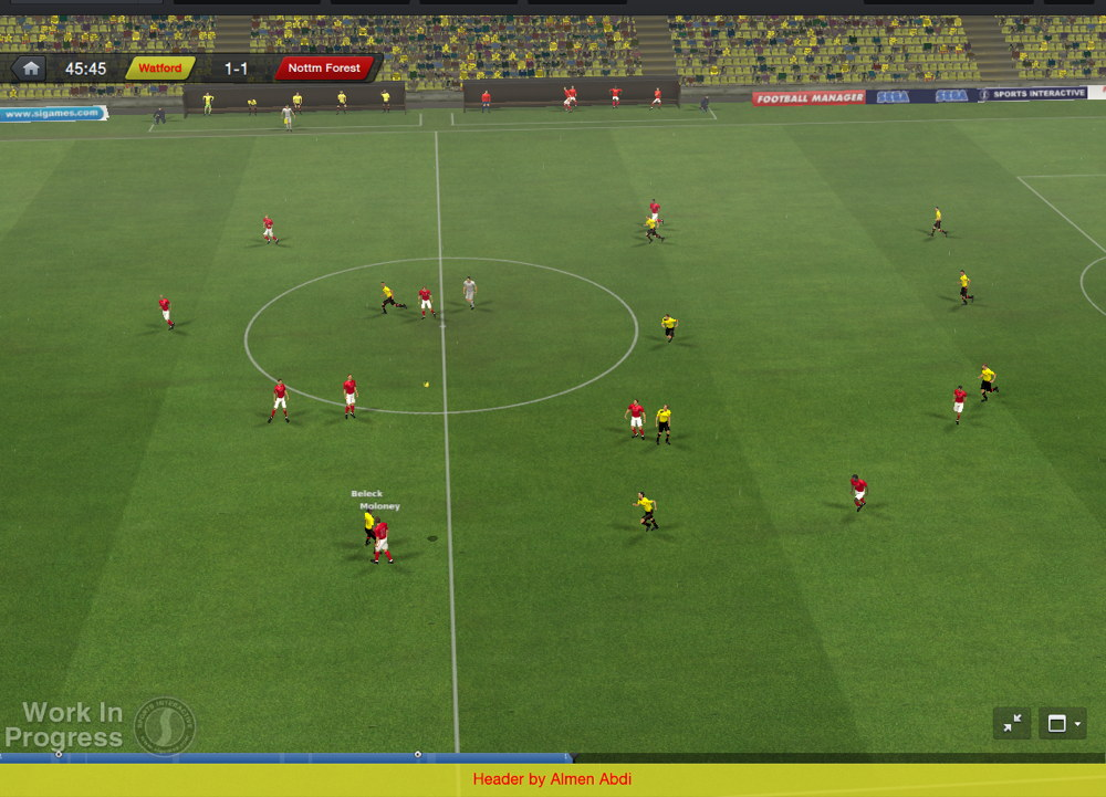 football manager 2014 in game b